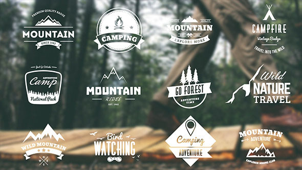 Mountain Travel And Campfire Badges