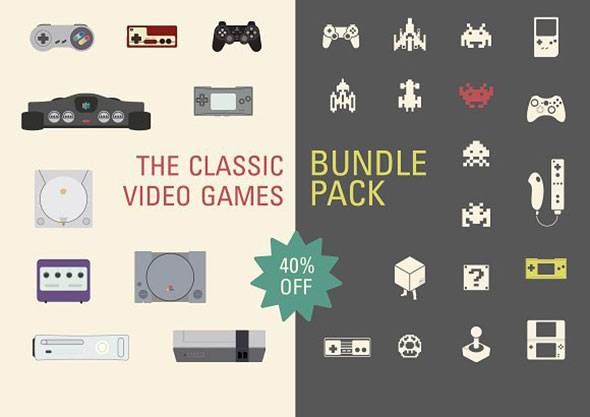 The Classic video Game BUNDLE PACK!