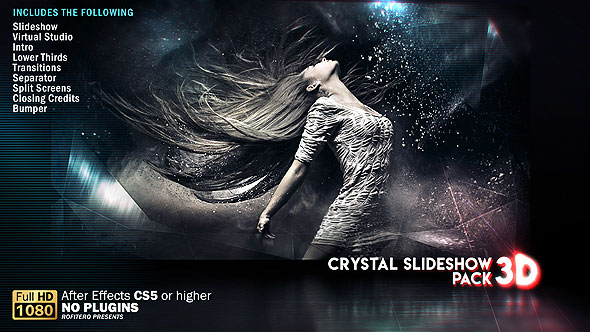 Crystal Slideshow Pack 3D
