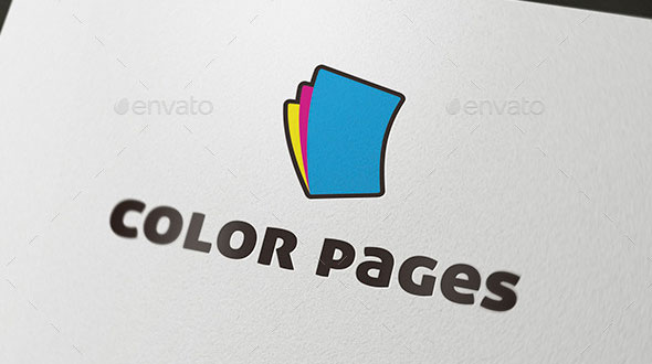 Color Pages Logo