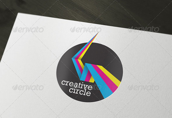 Creative Circle Agency / Print Services Logo