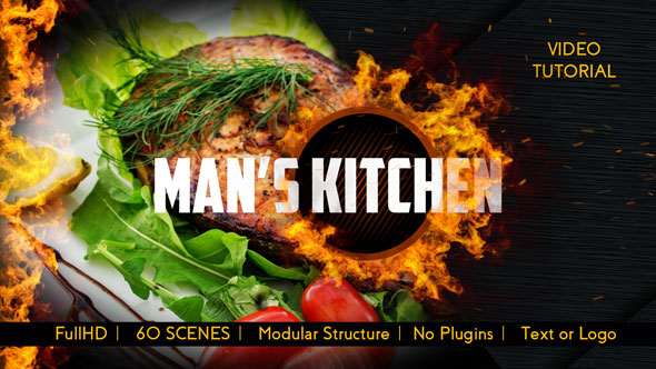 Men's Kitchen Menu