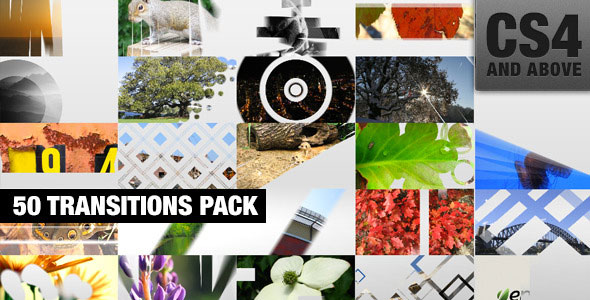 50 Transitions Pack