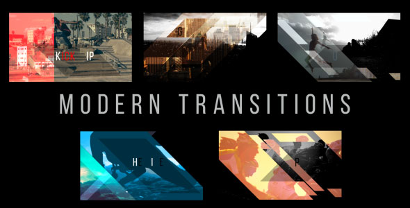 Modern Transitions 5 Pack Volume 3