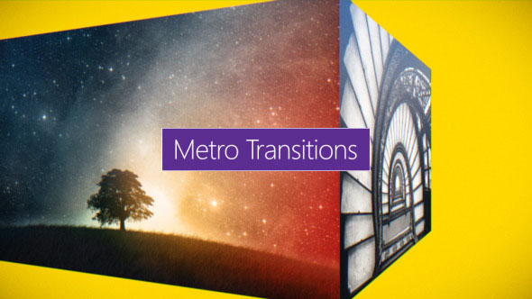 12 Metro Transitions Pack
