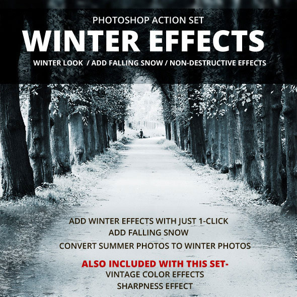 Winter Effects Action Set