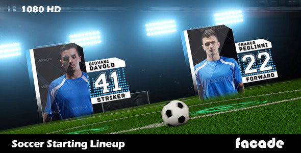 Soccer Starting Lineup