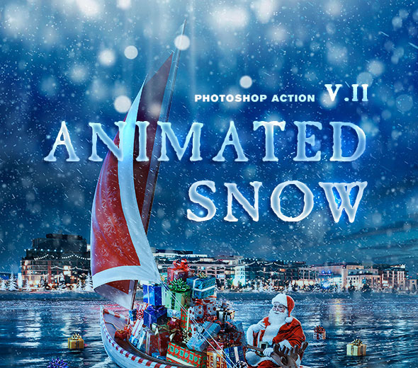 Animation Snow v2 Action