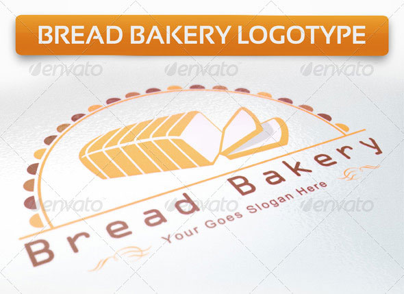 Bread Bakery Logotype