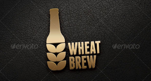Wheat Brew Logo Template