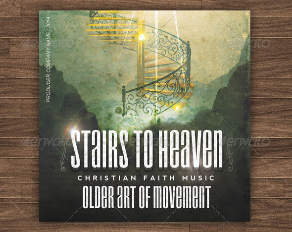 Heaven Stairs CD Cover Artwork