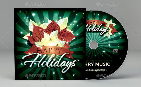 Happy Holidays CD Artwork