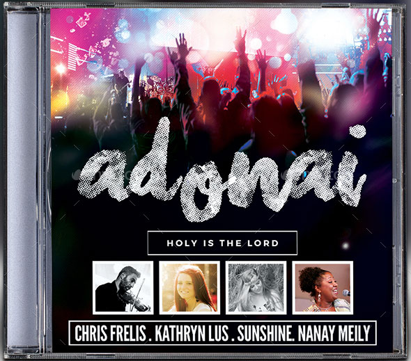 Adonai CD Album Artwork