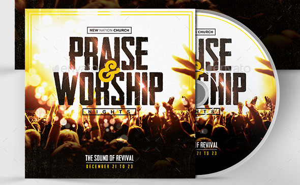 Praise & Worship - CD Album Template