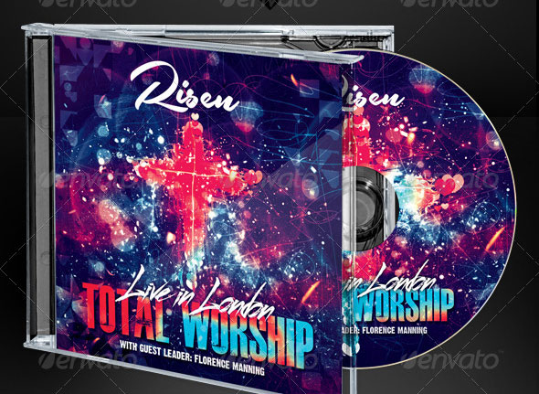 Christian Music Live Worship CD Artwork