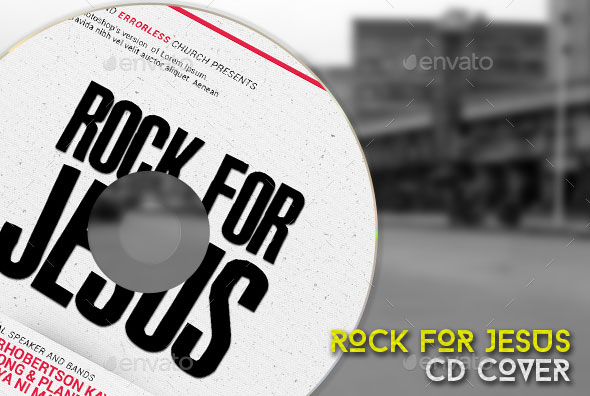 Rock for Jesus Church CD Cover