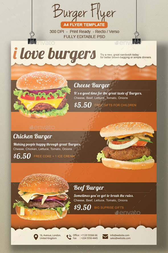 Food Flyer Templates Word Bogasrdenstaging