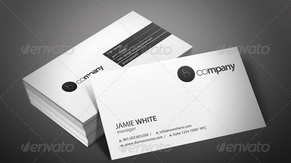 Black&White Business Cards