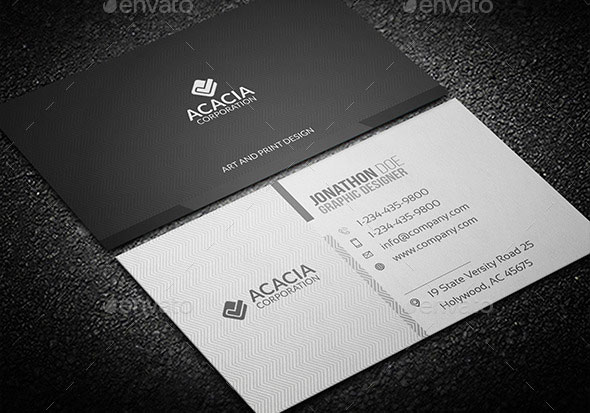 ACACIA BUSINESS CARD