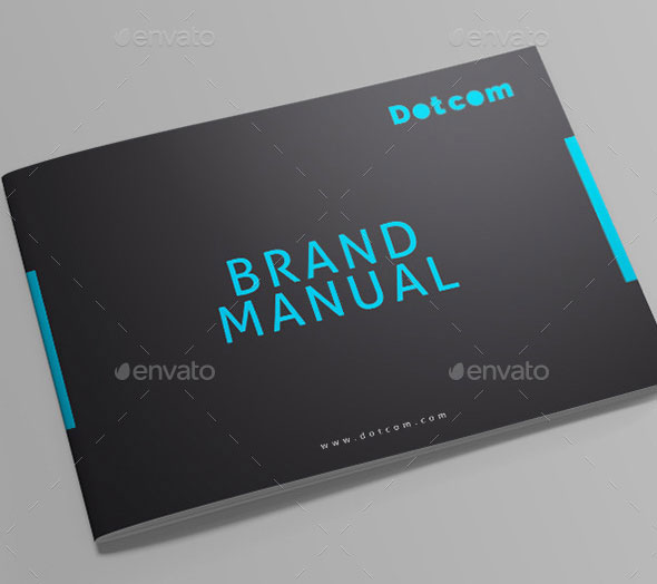 30 Painstaking Brand Manual Design Templates – InDesign | InDesign ...