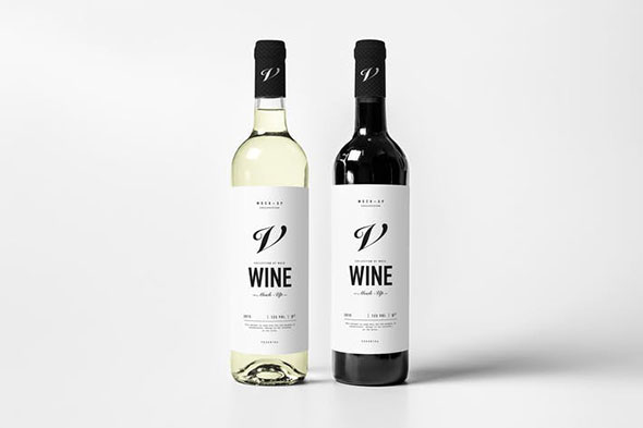 Wine Mock-up