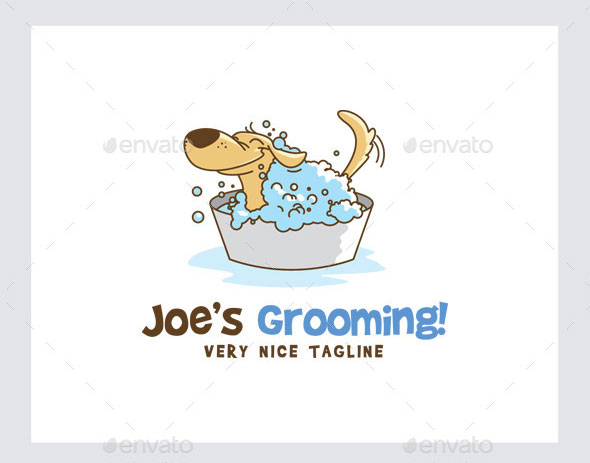 Pet/Dog Grooming Logo