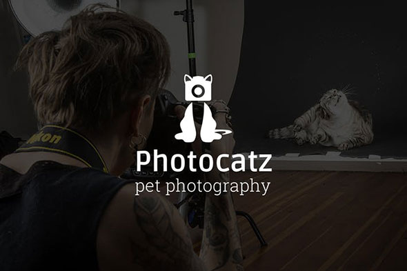 Photocatz : Pet Photography Logo