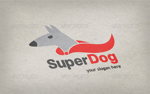 Super Dog Logo