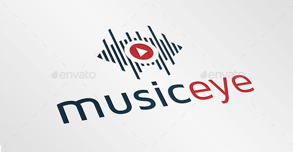 Music Eye Logo