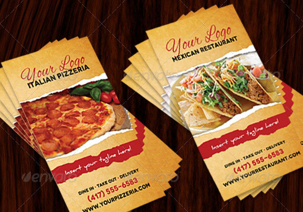 Restaurant Menu (Italian & Mexican)