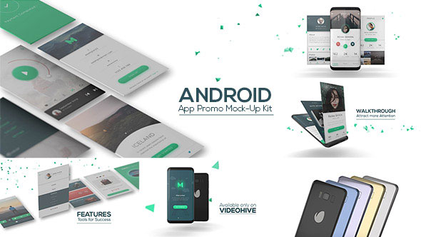 Android App Promo Mock-Up Kit