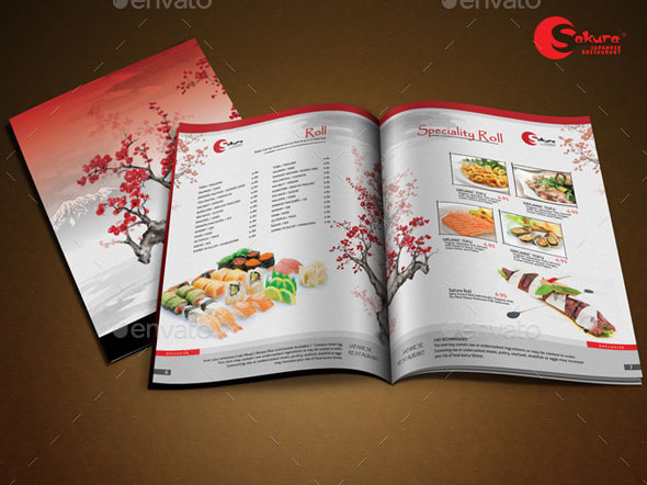 Sakura Restaurant Menu