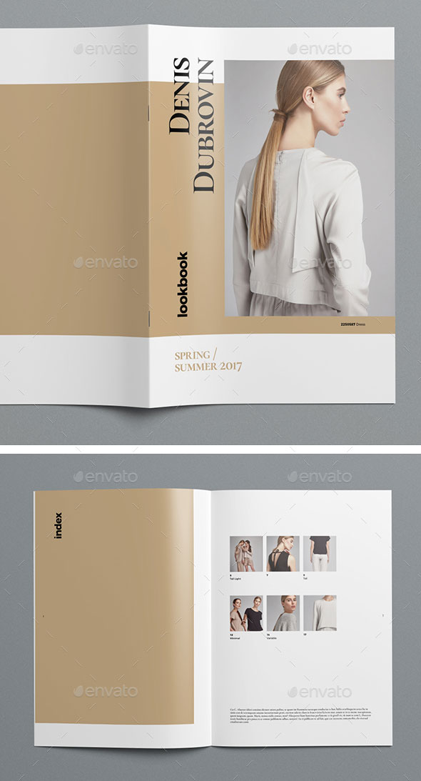 Multisize Lookbook / Catalog Pack
