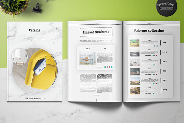 40 Best Catalog Design Templates 2018 Indesign Psd Ai