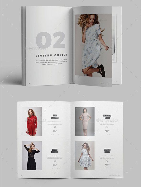 Fashion Catalogue / Lookbook