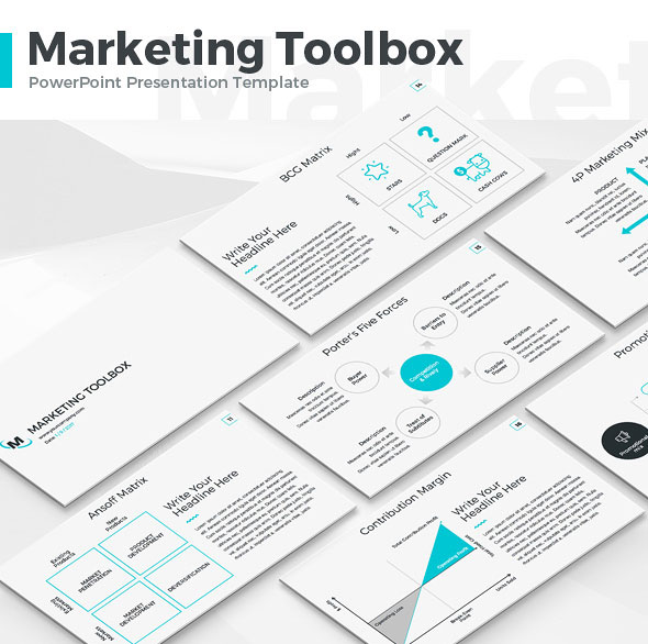 Marketing Toolbox PowerPoint Template