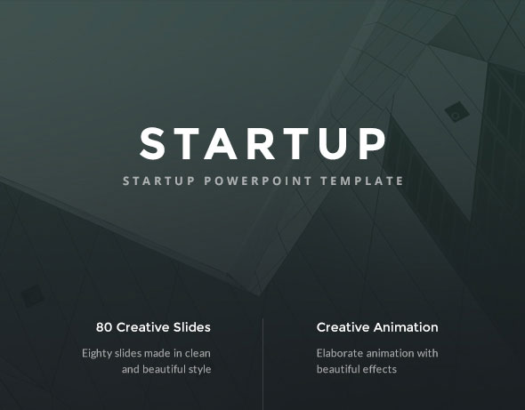 Startup - Pitch Deck PowerPoint Template