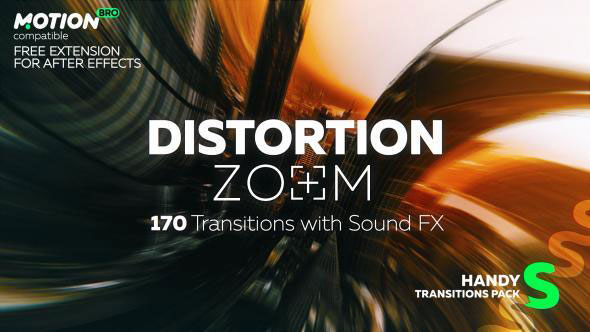 Distortion Zoom Transitions