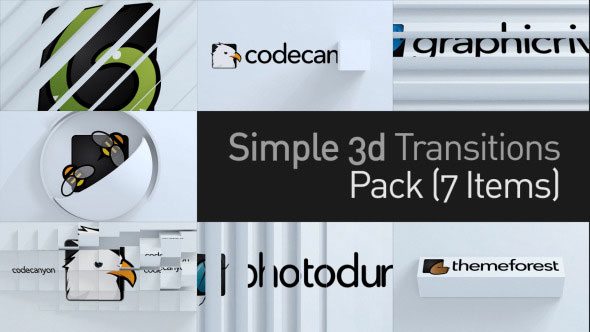 3D Simple Transitions Pack