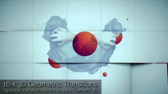 3D Geometric Transitions Pack