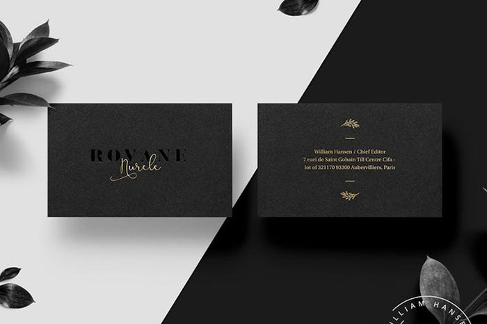 Rovane Business Card Template