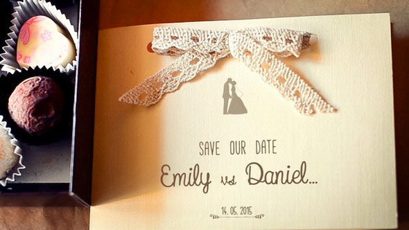 Sweet Wedding Invitation Card