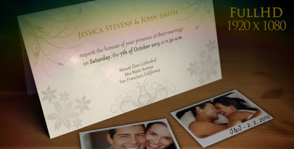 Wedding Invitation / Wedding Announcement