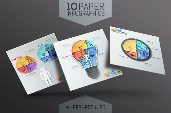 23 striking 3d infographic design templates psd eps ai photoshop idesignow