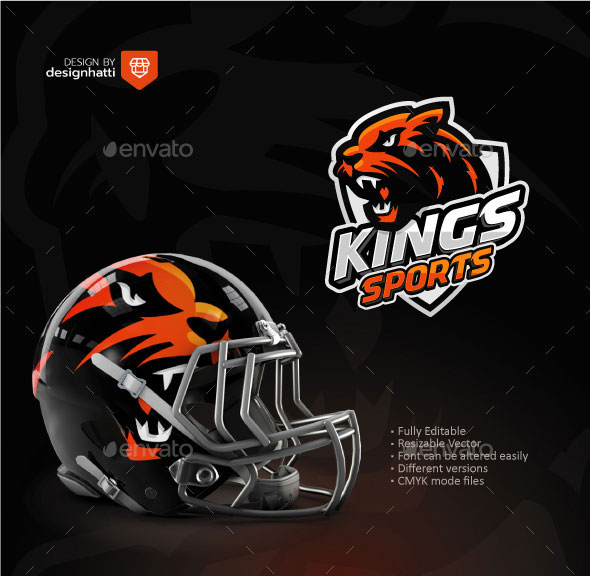 King Lion Sports Logo