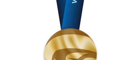 How To Make an Olympic Gold Medal Adobe Illustrator tutorial