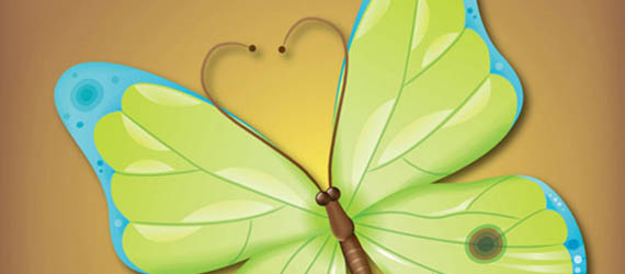 How to Make an Attractive Vector Butterfly Adobe Illustrator tutorial