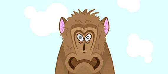 How to Create a Cool Monkey Character Adobe Illustrator tutorial