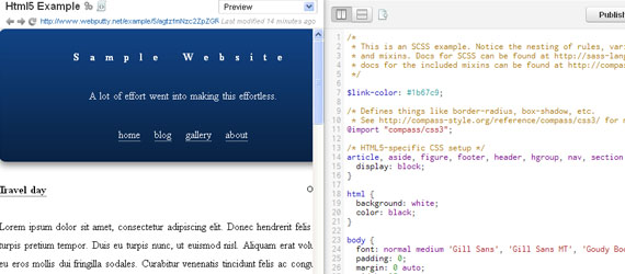Top 10 CSS/CSS3 Tools For Web Developer And Designer