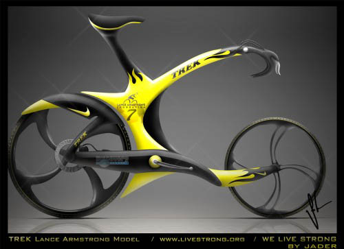 Lance Armstrong Bike by Jader-1